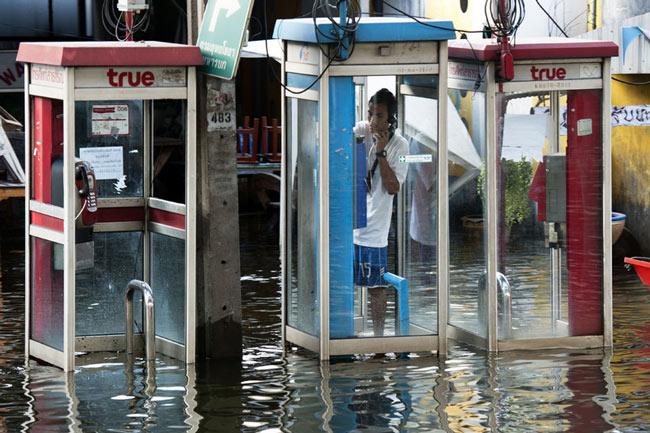 سیل در بانکوک