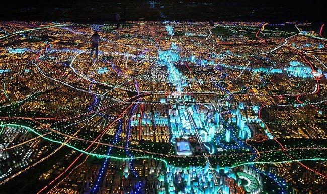 ماکت بزرگ شهر چنگدو چین