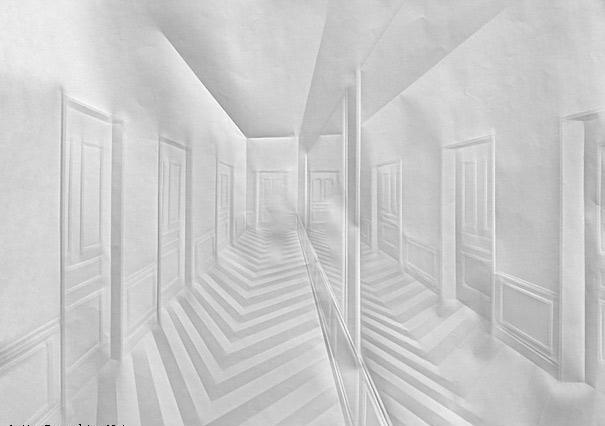 197614 509 هنرنمایی فقط با تا کردن کاغذ (عکس)
