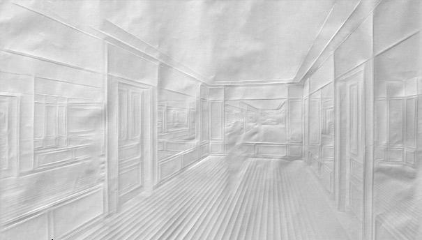 197615 300 هنرنمایی فقط با تا کردن کاغذ (عکس)