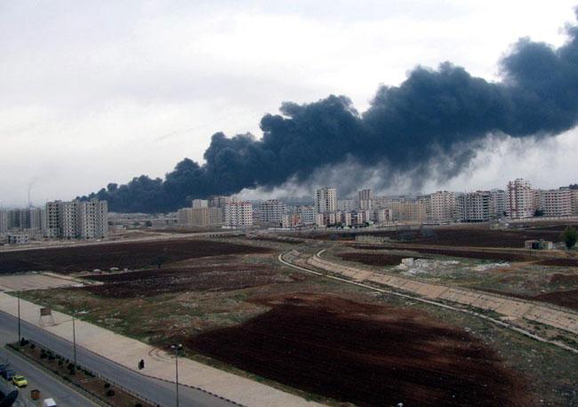 انفجار خط لوله نفت در سوریه