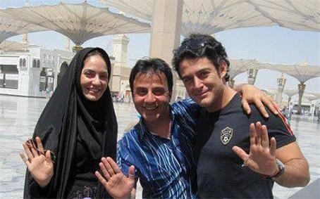 عکس  از مهناز افشار، گلزار و عموپورنگ