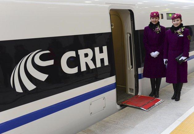 """جزئیات فعالیت قطار """" گلوله """" در چین (+عکس)"""