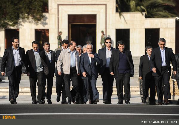 استقبال از احمدی نژاد