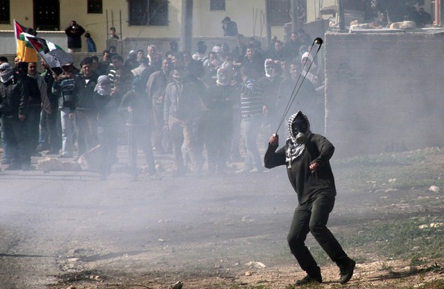 اعتراضات جوانان فلسطینی