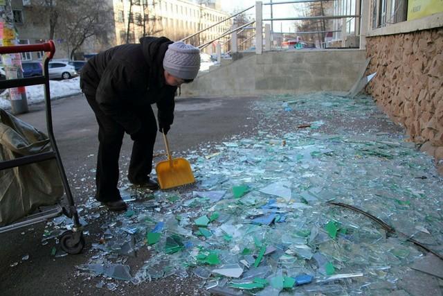 انفجار شهاب سنگ در روسیه