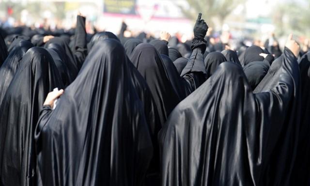 تظاهرات زنان بحرینی