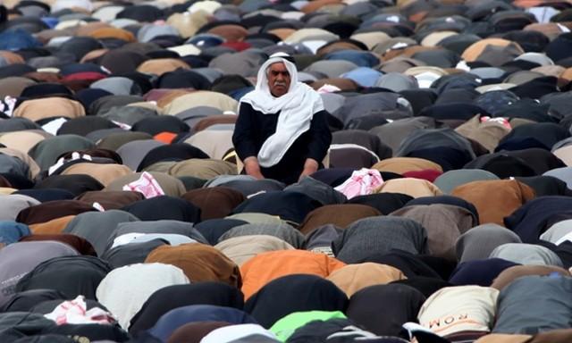نماز جمعه اعتراضی سنیان عراقی