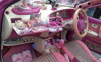 ماشین دخترانه