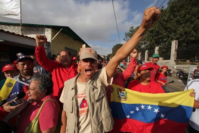 حامیان هوگو چاوز