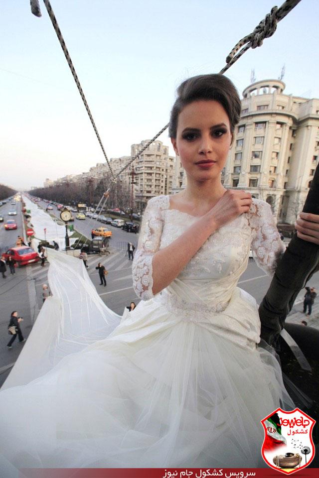 بلندترین لباس عروس جهان (+عکس) - پایگاه ...