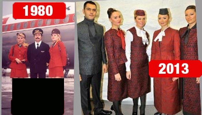 271751 528 - جنجال لباس جدید مهمانداران ترکیش ایر