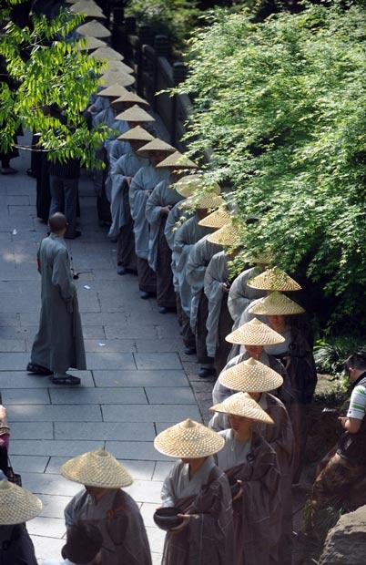 راهبان چینی