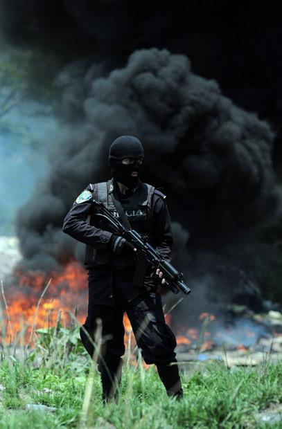 پلیس هندوراس