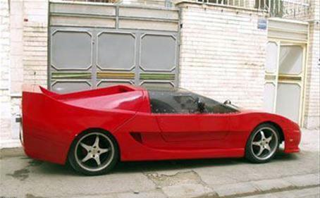 219082 233 اتومبیل فراری دست ساز ایرانی!+ عکس