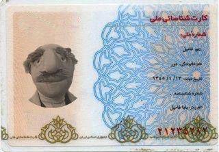 کارت ملی فامیل دور