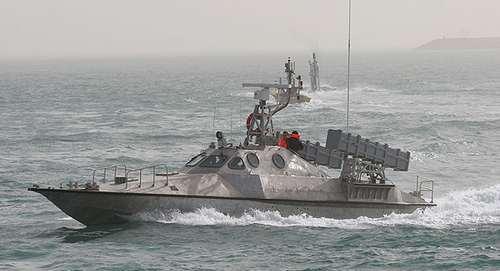قایق تندروی سپاه