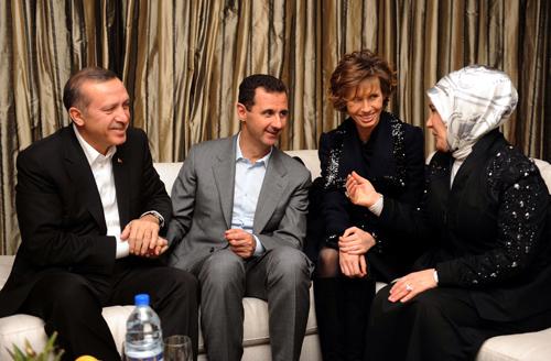 اسد و اردوغان