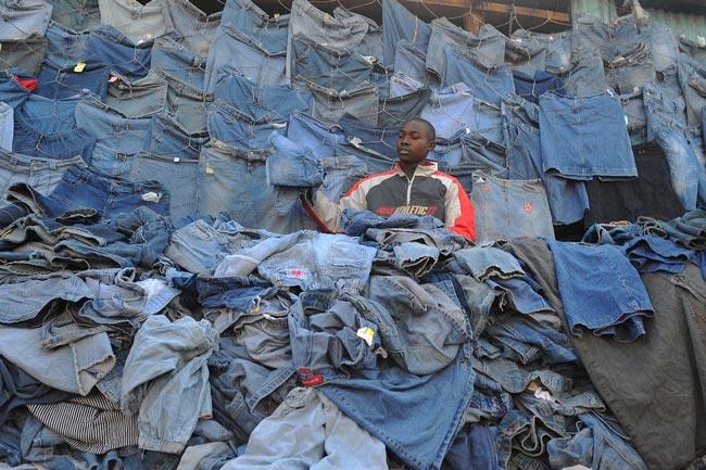 فروش لباس هاي دست دوم