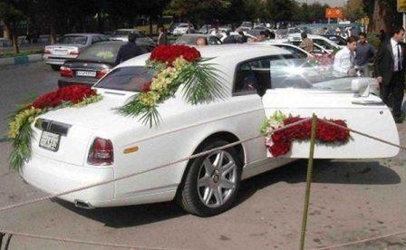 234322 855 کرایه ماشین عروس شبی 8 میلیون فقط!!+ عکس