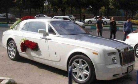 234324 199 کرایه ماشین عروس شبی 8 میلیون فقط!!+ عکس