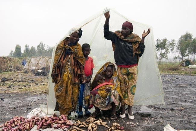 کمپ آوارگان کنگویی
