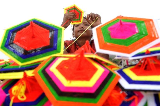 چترهای کاغذی