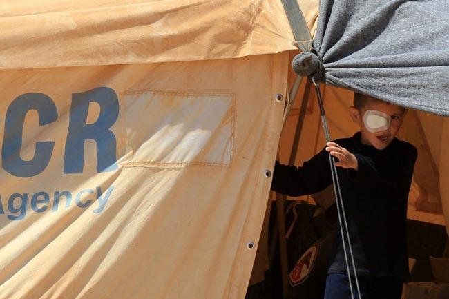 کمپ آوارگان سوری