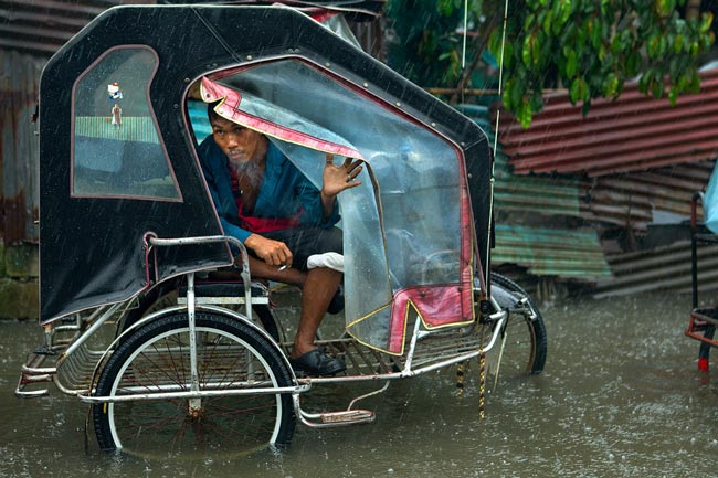 باران سیل آسا