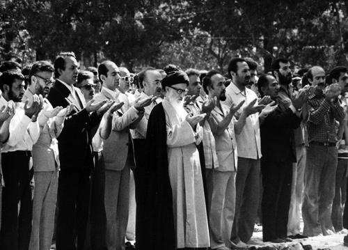 نماز جمعه تهران - آیت الله طالقانی