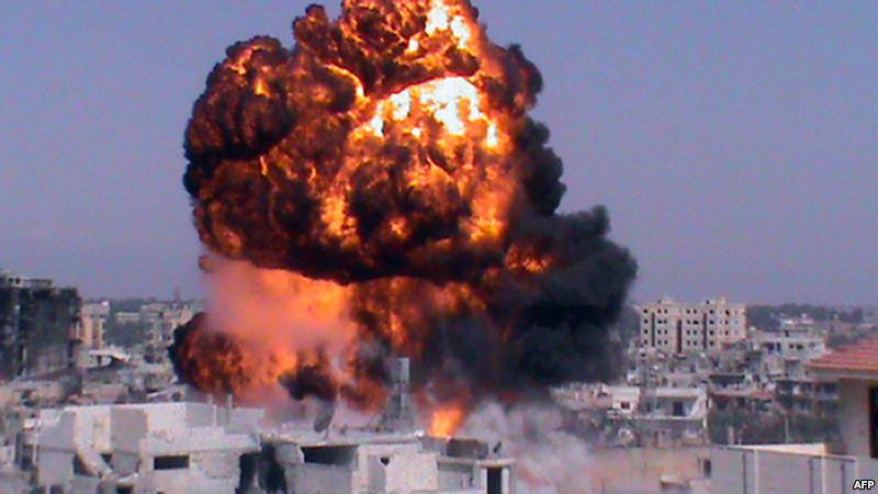 درگیری ها در سوریه