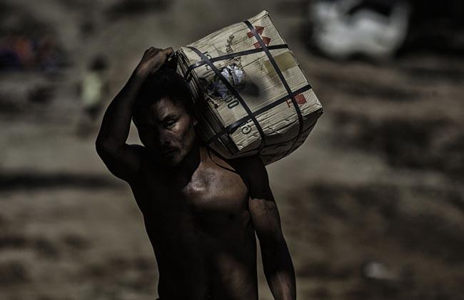 مهاجر برمه ای