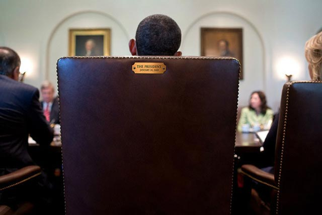 239043 764 پشت صندلی اوباما / عکس