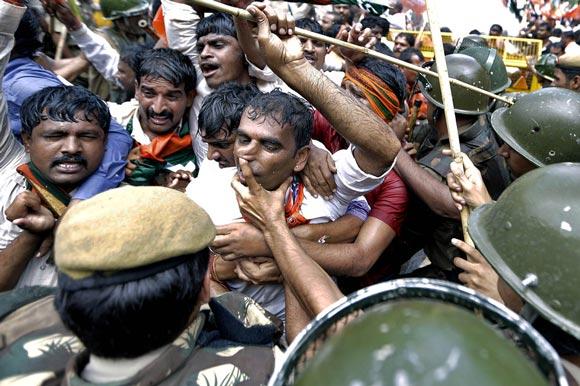 پلیس هند در دهلی