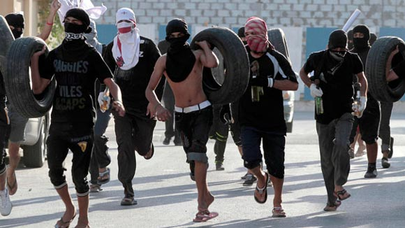 تظاهرات ضد دولتی در بحرین