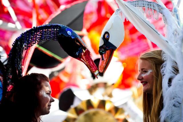 فستیوال خیابانی در لندن