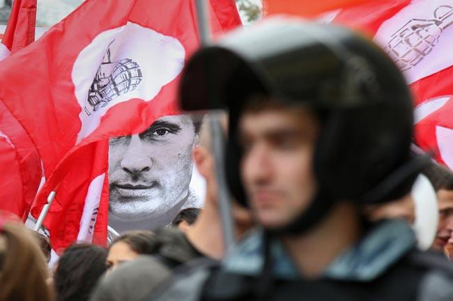 تظاهرات علیه پوتین
