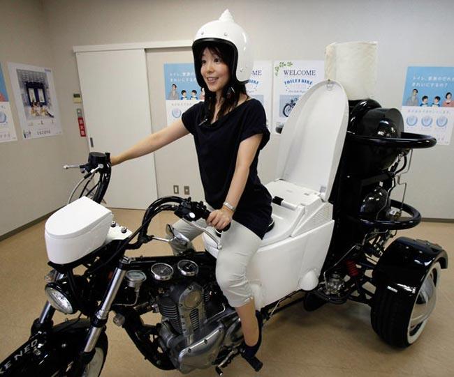 موتور سه چرخه توالتی