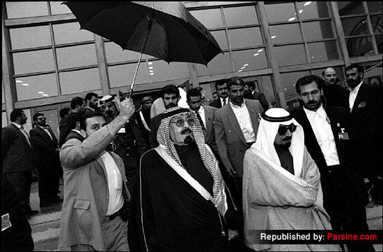 امیر وقت کویت و ولیعهد وقت عربستان