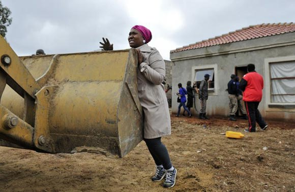 زن اهل آفریقای جنوبی