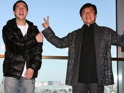 249289 996 جکی چان و پسرش / عکس