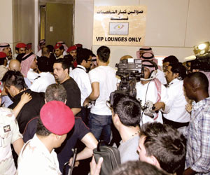 تصاویر استقبال سعودی ها از لیونل مسی