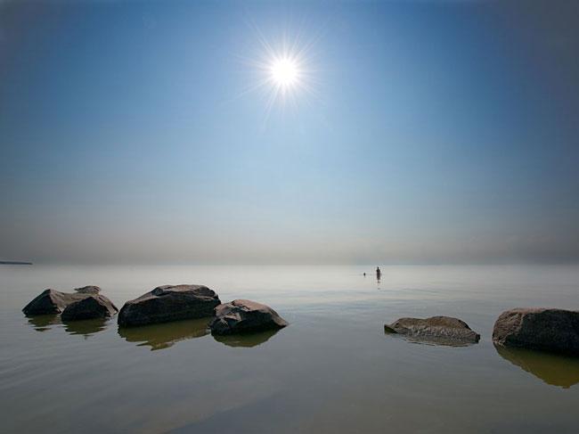 دریاچه وینیپگ در کانادا