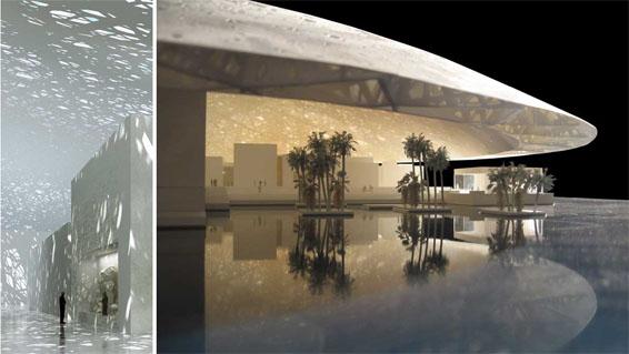 ماکت موزه لوور ابوظبی