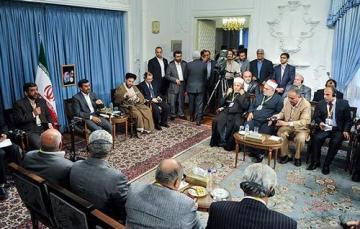 مصری ها مهمان احمدی نژاد