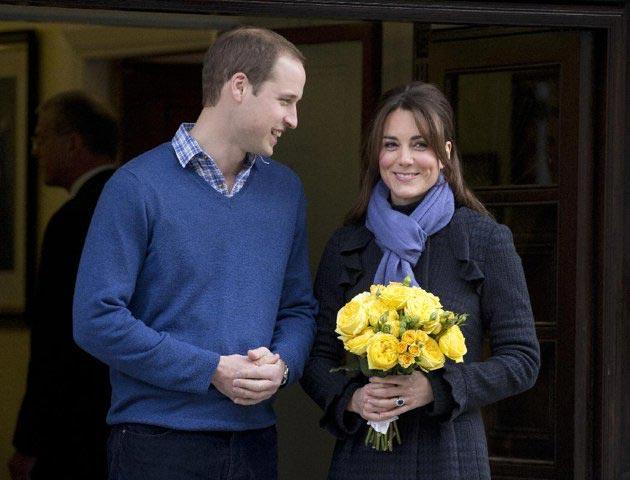 کاترین میدلتون و همسرش پرنس ویلیام