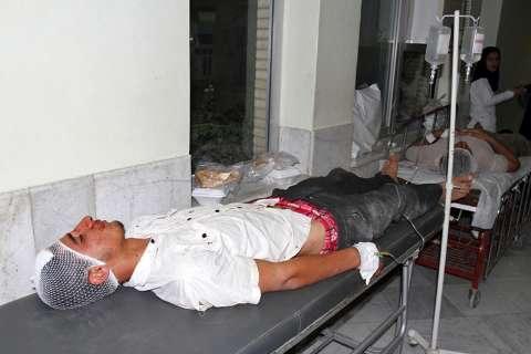 تصاویر مصدومان و کشته شدگان شهر شنبه و دشتی