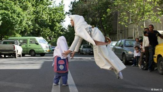 283786 891 - اولین دختر بدلکار ایرانی (+عکس)