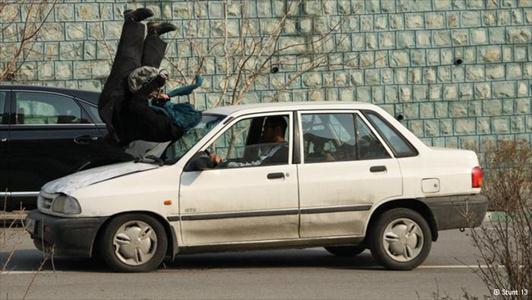 283787 410 - اولین دختر بدلکار ایرانی (+عکس)