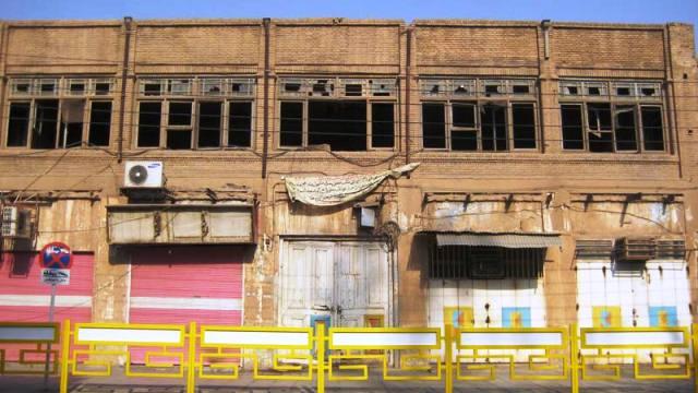 آغاز تخریب عمارت تاریخی